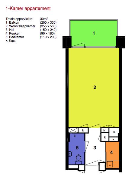 De appartementen - Groenestein